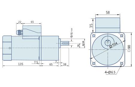 induction motor 90 watt  induction motors  manufacturer